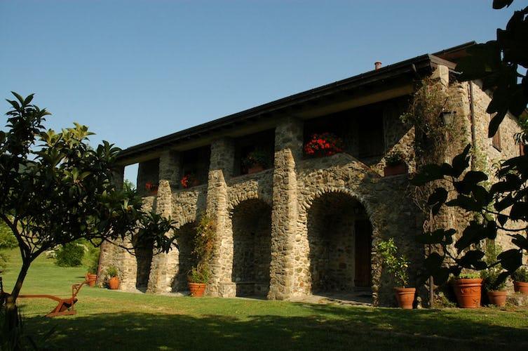 Agriturismo Ca' del Bosco - Gli splendidi archi in pietra
