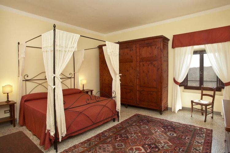 Camera da letto appartamento Frantoio