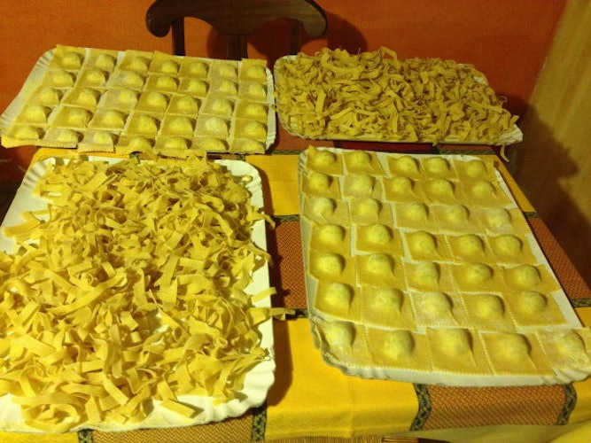 Be sure to taste the homemade pasta at Agriturimo Melograno