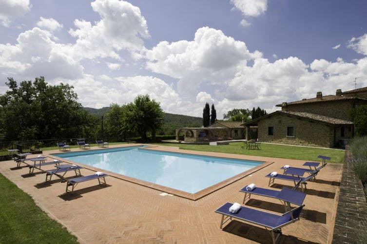Tuscany Farmhouse with Pool Incrociata