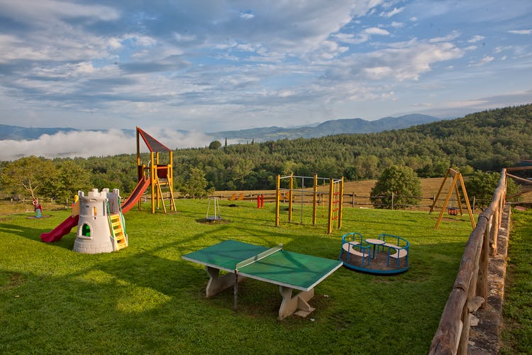 Agriturismo La Collina Delle Stelle - outdoor games for the kisd