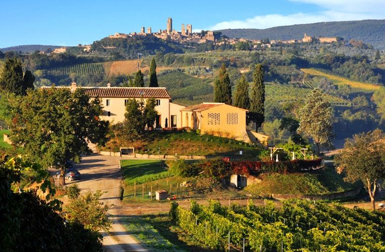 Agriturismo La Lucciolaia - View of San Gimignano