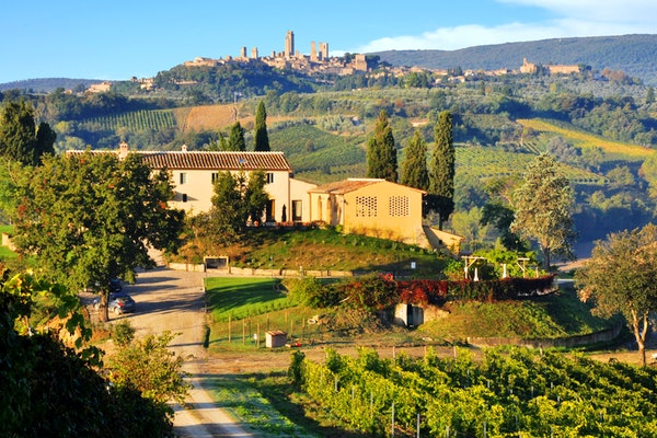 Agriturismo La Lucciolaia - Vista San Gimignano