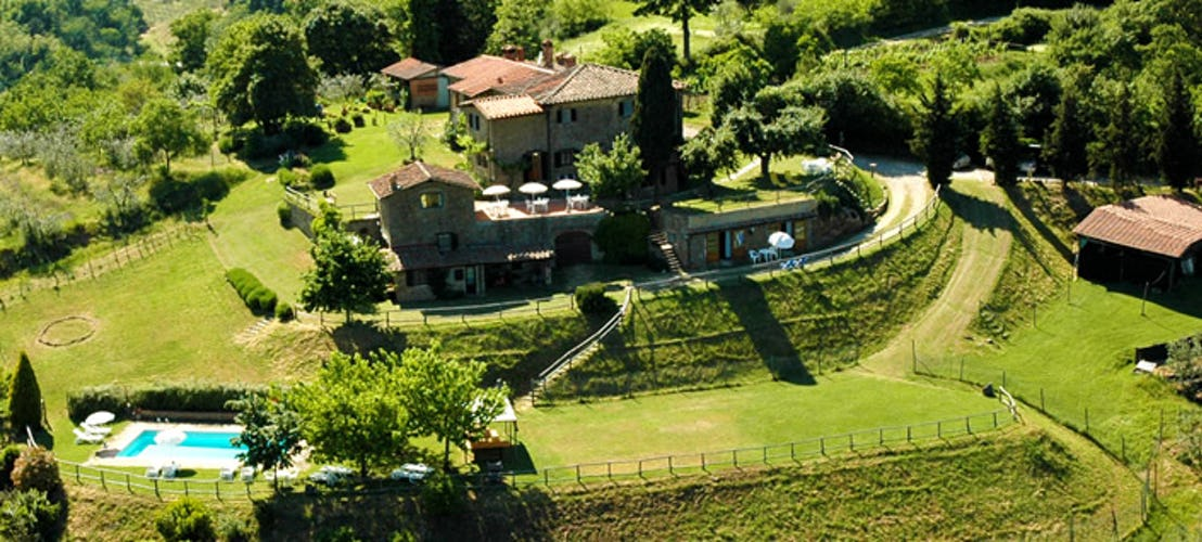 Agriturismo La Sala: Vacation Apartments in Chianti