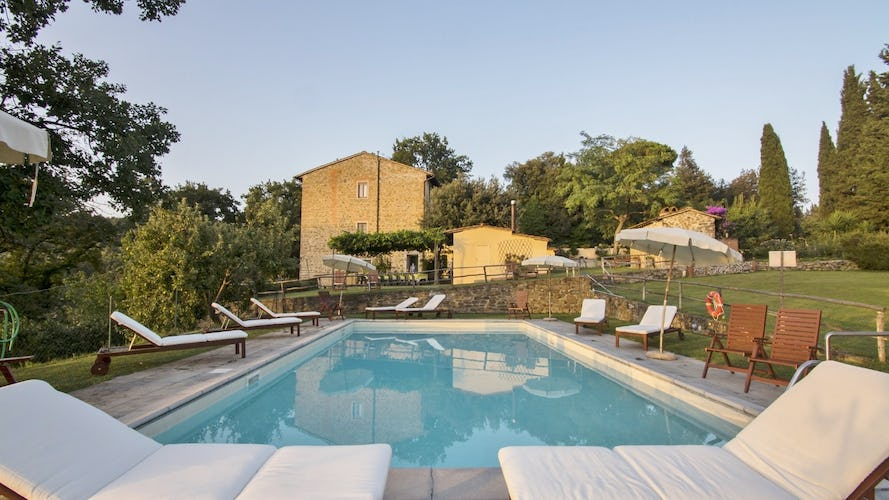 Agriturismo La Tinaia - Lovely Shady Garden Surrounds the Agriturismo