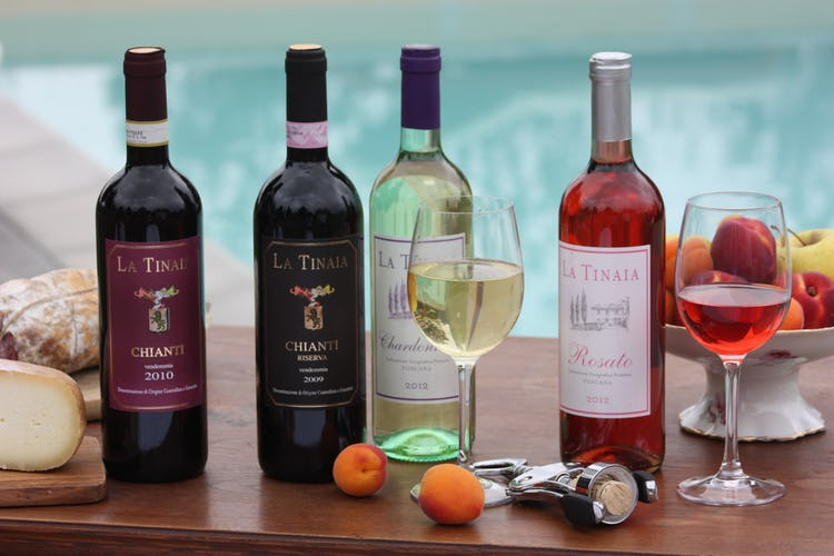 Agriturismo La Tinaia - Enjoy wine tasting the estate's wines