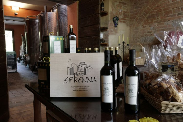 Prodotti Azienda Agriturismo Pieve Sprenna Toscana