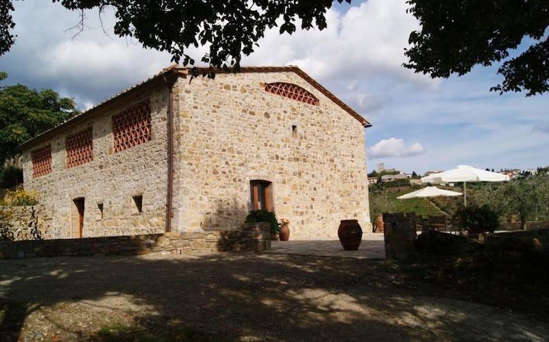 The villa Capanna Leopoldina