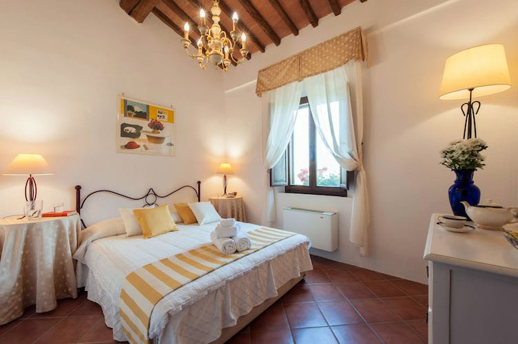 Agriturismo San Fabiano double bedroom