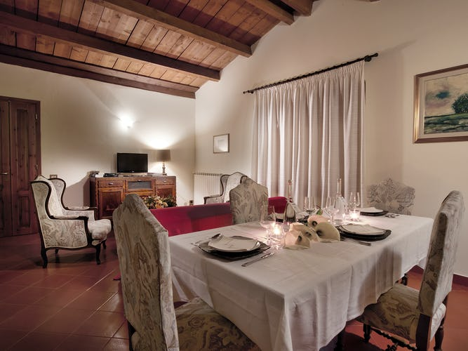 Agriturismo Valleverde: Ogni appartamento dispone di una cucina completa