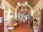 Beautifully restored, Villa il Palazzino recaptures the elegance.
