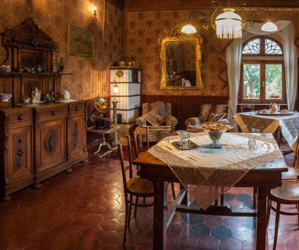 A delicious breakfast is available for everyone at Villa il Palazzino