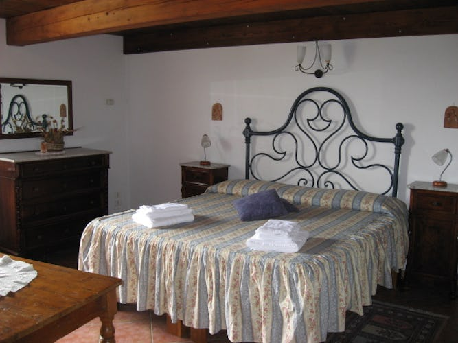 Double Room at Villani Farmhouse Near Florence