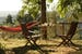 Find a table or a hammock for some down time and a nap in Chianti