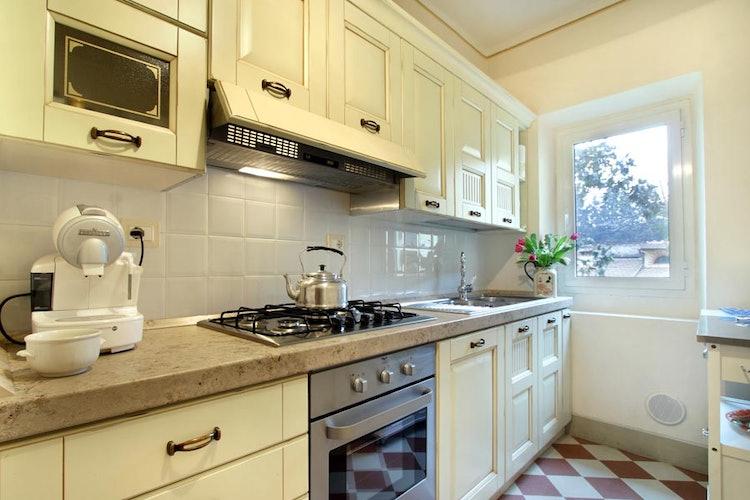 La Cucina dell' Appartamento Guelfa A Firenze