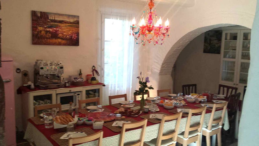 Poggio del Drago: Meals are a Moment of Fun & Friendship
