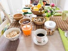 The breakfast and all the meals are the passion at La Nuvola Sospesa