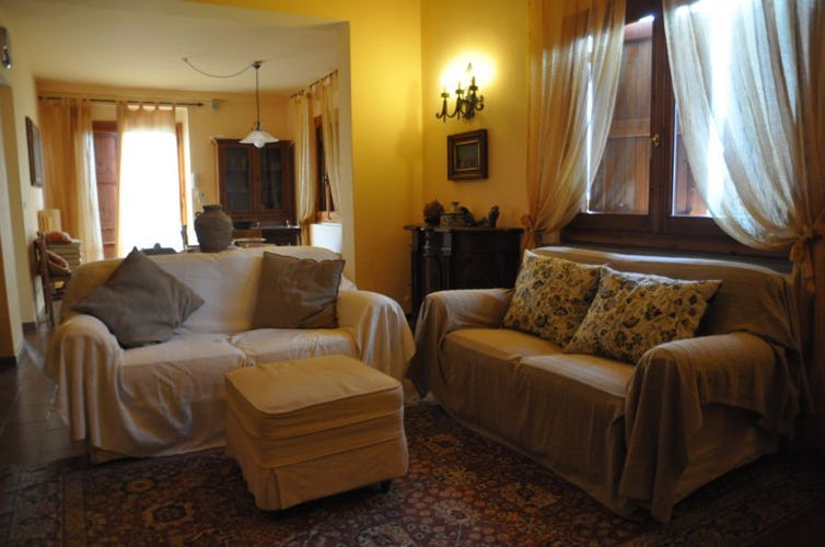 Unpretencious living spaces for relax at B&B Mugello