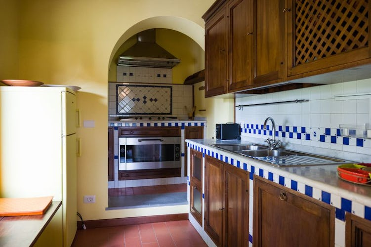 Belvedere di Viticcio is furnished with modern appliances