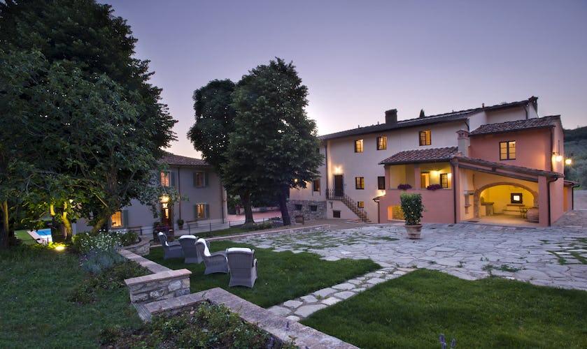 Country Relais nel Chianti fiorentino: Borgo I Vicelli