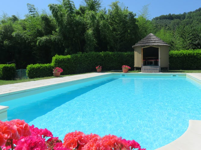 La Loggia Fiorita, villa con piscina privata per un soggiorno esclusivo in Toscana