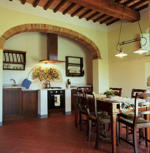 Borgo della Meliana: Rental apartments Gambassi Terme, particular of the kitchen