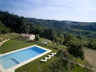 Panoramic pool, tuscany farmhouse Borgo della Meliana