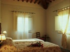 Apartments in farmhouse Gambassi Terme, particular of the bedroom