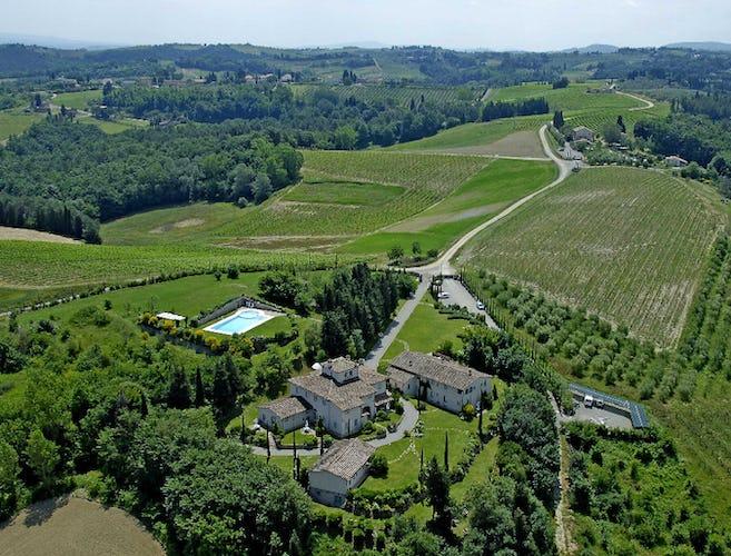 Borgo Meliana - Aerial Panorama