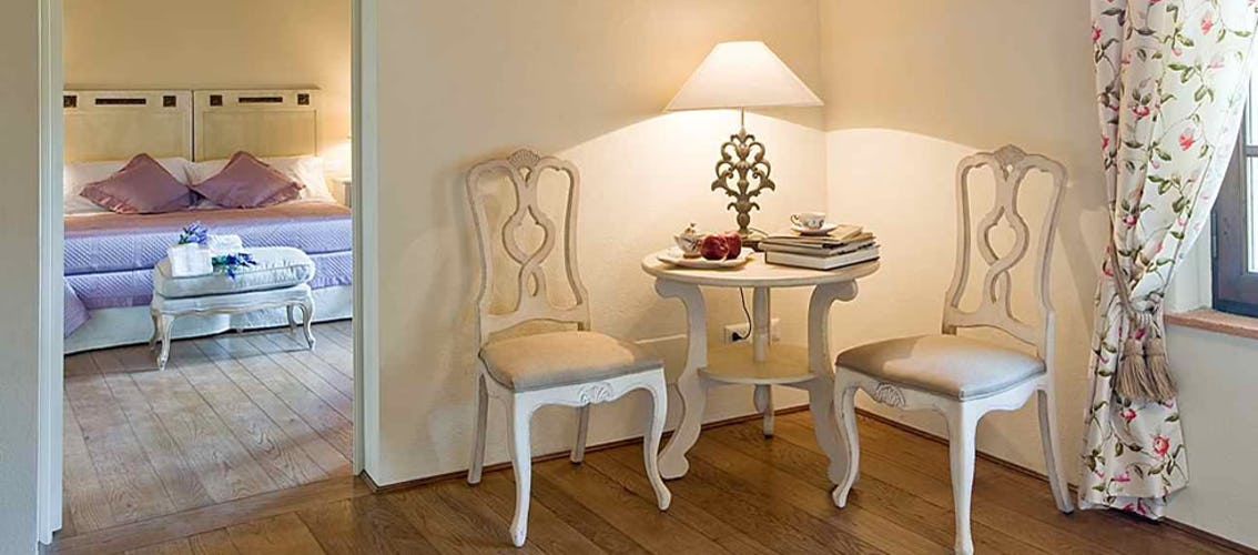 Quando una struttura è pensata per il puro e semplice relax dei propri ospiti si vede dai semplici particolari come questo