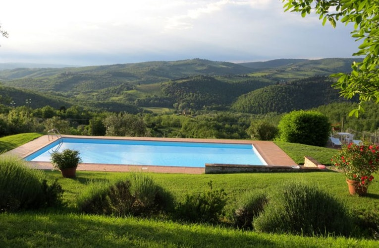 Panoramic vistas from every corner at Borgo Sicelle