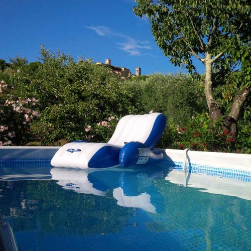 Private pool perfect for family fun at Villa Campo del Rosario