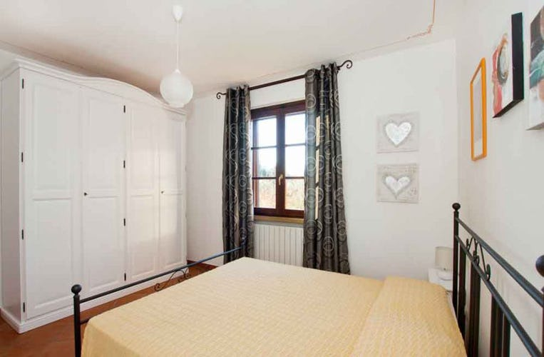 Double bedroom with panoramic view at Campo del Rosario
