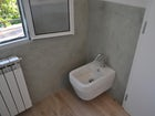 Modern European fixtures throughout the rental apartment