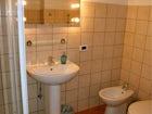 Each room has its own en suite bathroom