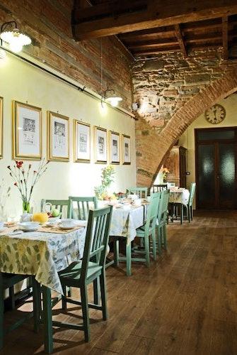 La stanza verde alla Casa dei Tintori