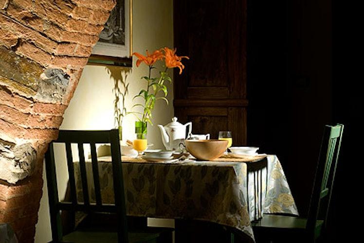 angolo della sala da colazione