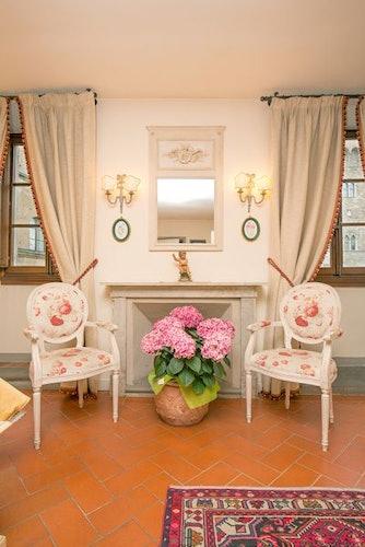 Un particolare della suite Leonardo