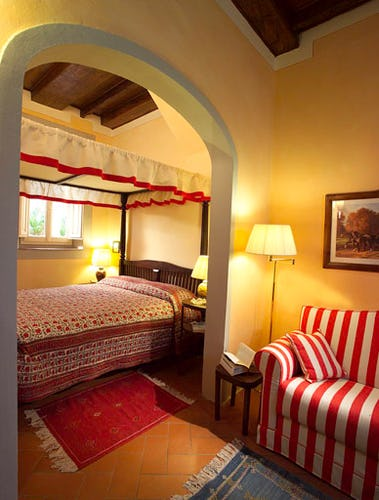 Bedroom Casa del Mercato florence
