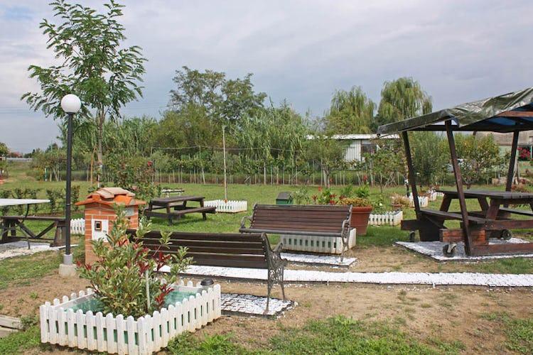 Il delizioso giardino del b&b
