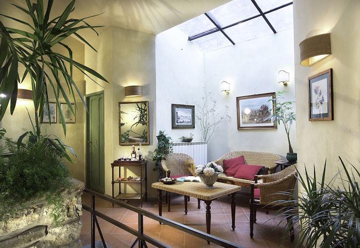 Gli spazi intimi e riservati del B&B dove concedersi momenti di relax