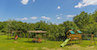 Casa Vacanze Le Fornaci: Kids games in the garden