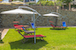Casa Vacanze Le Fornaci: Tanning beds and shade umbrellas