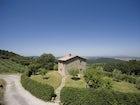 Typical Tuscan stone architecture at Podere Ripostena