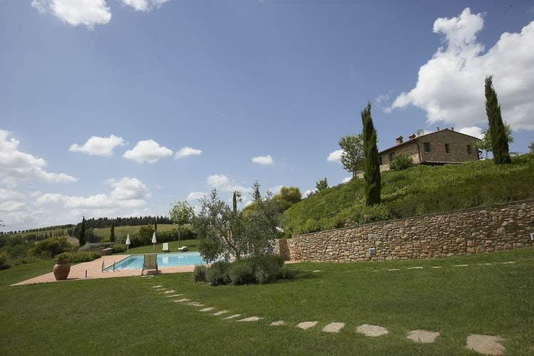 Castellare di Tonda - Panorama nella Toscana