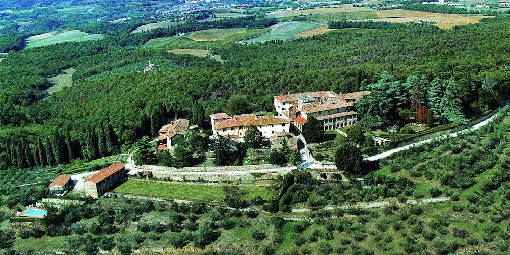 Castello di Montozzi - Aerial View