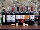 I vini e l'olio prodotti dall'azienda agricola del Castello