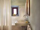 Modern bathrooms at Chianti Suites vacation rentals