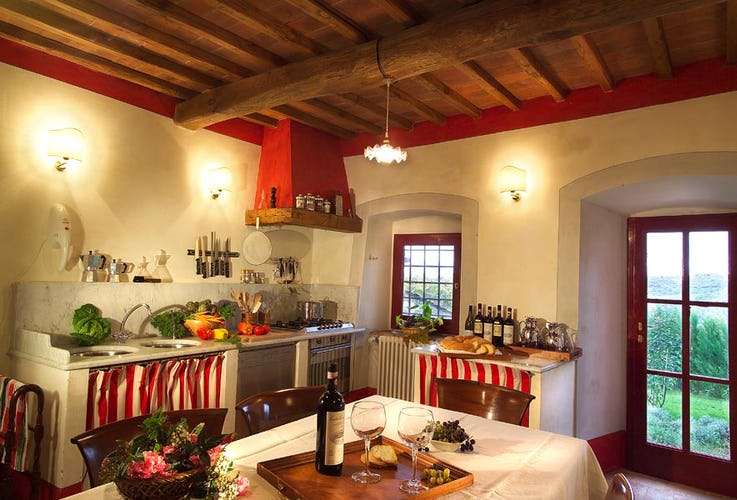Chianti Suites Holiday Rentals and fully equipped bathrooms