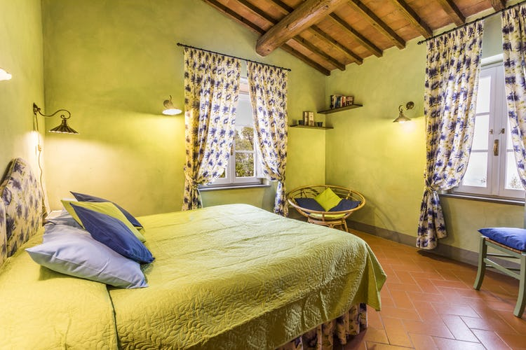 Fattoria di Maiano: colorful and luminous rooms